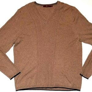 7 For All Mankind Men's Tan Sweater | XL